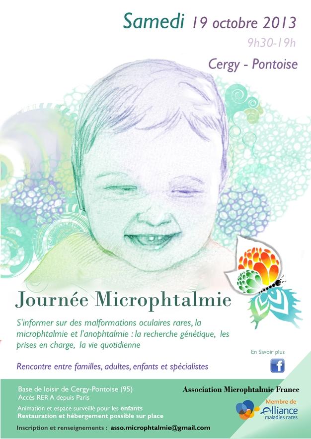 Poster Journée Microphtalmie 19 octobre 2013